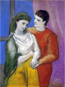 Пикассо. Влюблённые